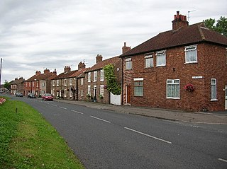 Dunnington village in United Kingdom
