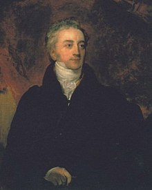 1=Portrait of Dr. Thomas Young (1773 – 1829). Robinson's biography of Young says (page 233) that the portrait was painted after 1822. Young died in 1829.