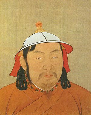 Ayurbarwada Buyantu Khan - Portrait of Buyantu Khan (Emperor Renzong) during the Yuan era.