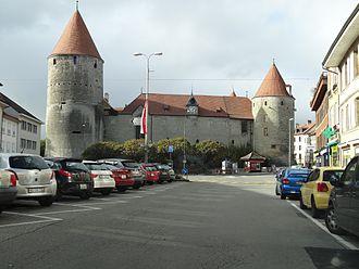 Yverdon-les-Bains - Yverdon Castle