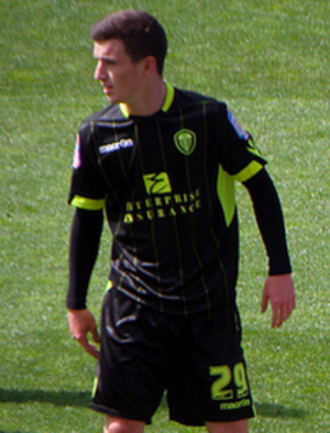 Zac Thompson - Thompson playing for Leeds United in 2011