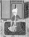 """Bahram Gur in the Turquoise Palace on Wednesday"", Folio 216 from a Khamsa (Quintet) of Nizami MET 187676.jpg"