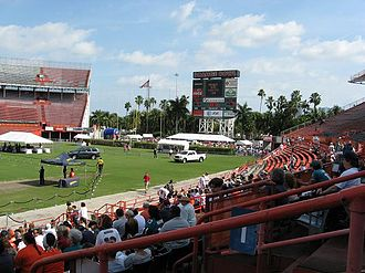 Miami Orange Bowl - Farewell to the Orange Bowl event on January 26, 2008