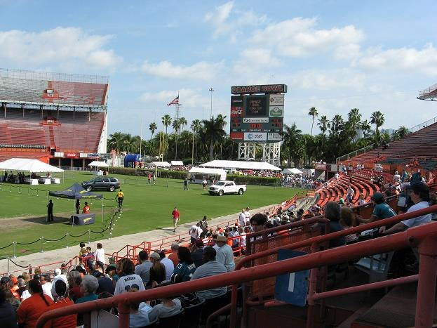 """""""Farewell to the Orange Bowl"""" event, 29 January 2008"""