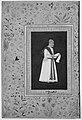 """Portrait of Mulla Muhammad Khan Vali of Bijapur"", Folio from the Shah Jahan Album MET 219281.jpg"