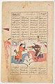 """Rustam Slays Esfandiyar"", Folio from a Shahnama (Book of Kings) MET DP215924.jpg"