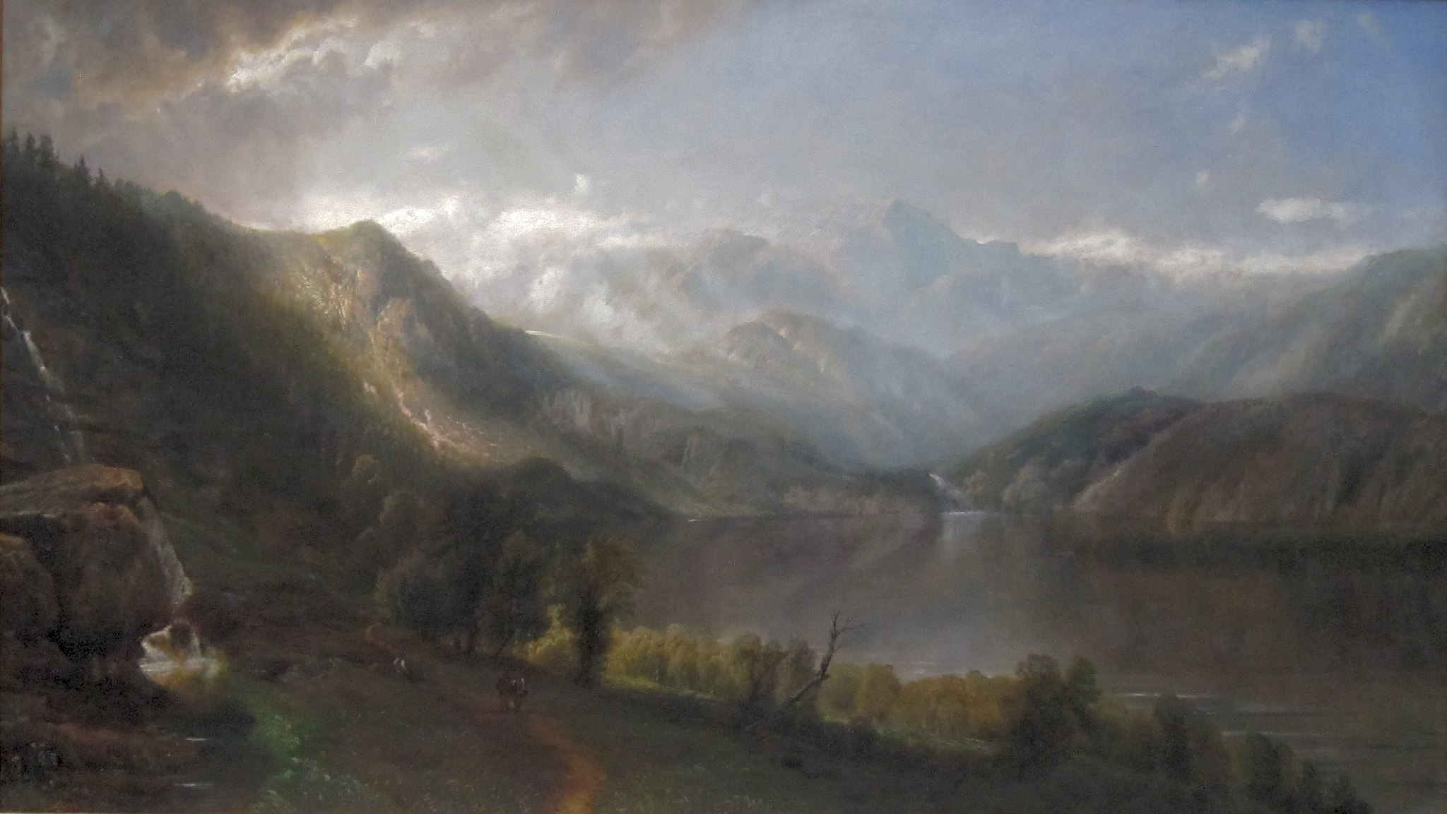 'Lake Willoughby' by Edmund Darch Lewis, 1867