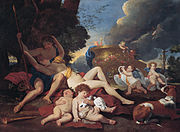 'Venus and Adonis', oil on canvas painting by Nicolas Poussin, c. 1628-29, Kimbell Art Museum.jpg