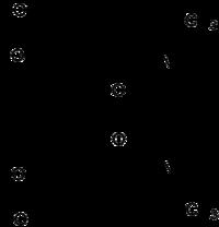 Strukturformel von Methylendioxypyrovaleron