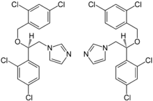 (±)-Miconazole Enantiomers Structural Formulae.png