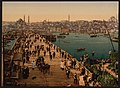 (Kara-Keui (Galata) bridge, Constantinople, Turkey) LOC 4211230200.jpg
