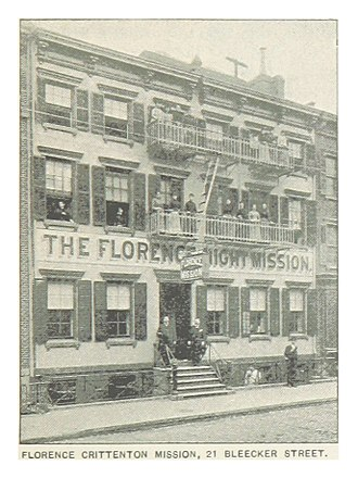 National Florence Crittenton Mission - FLORENCE CRITTENTON MISSION, 21 BLEECKER STREET, 1893