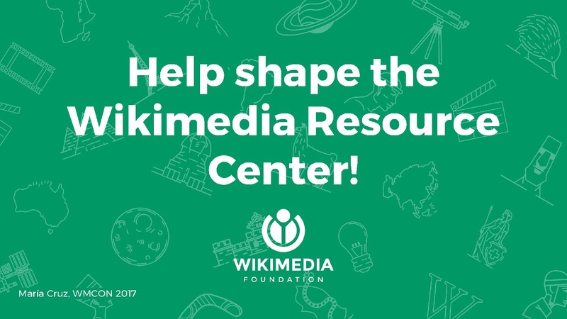 File:(WMCON 2017) 48 - Give feedback on the Wikimedia Resource Center.pdf