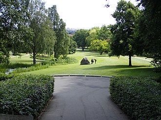 Aabyhøj - Image: Åby Park (juli) 01