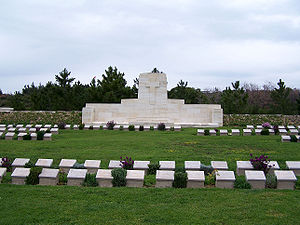 Quinn's Post Commonwealth War Graves Commission Cemetery - Image: Çanakkale 4853