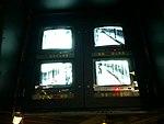 Écran de contrôle EAS en gare de l'aéroport Charles de Gaulle 1.jpg