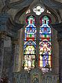 Église Saint-Rémi d'Aouste, vitrail.JPG