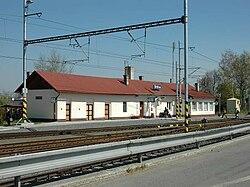 Štítina railway station, Czech Republic.jpg