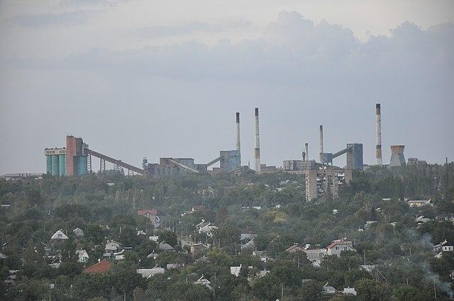 Región oriental de Ucrania