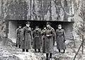 Командующий 1-й гвардейской армией генерал-полковник А.А. Гречко (в центре) с офицерами штаба на линии Арпада. 1944 г.jpg