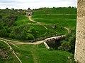 Крутояры над Днестром - территория Хотынской крепости.jpg