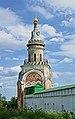 Монастырь Борисоглебский.Свечная башня,вид с наружной стороны монастыря.JPG