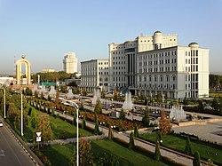Национальная библиотека Таджикистана, г. Душанбе.JPG