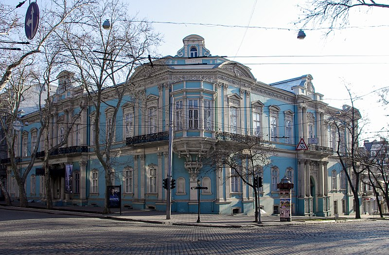 Палац Абази, Одеса (автор фото Hwyrd, вільна ліцензія cc by-sa 4.0)