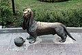 Памятник собаке (Пожарный пёс Бобка) на Сусанинской площади.jpg