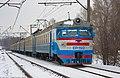 ЭР1-192, Украина, Днепропетровская область, перегон Никопольстрой - Никополь (Trainpix 215414).jpg