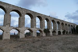 Acre, Israel - Ottoman aqueduct to Acre