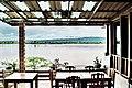 ทานอาหารเช้า กับ วิวแม่น้ำโขง , From resort's restaurant @ Sang Khom - panoramio.jpg