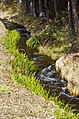 朴沢の引き水 A Narrow Stream in Hozawa - panoramio.jpg