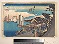 東海道五十三次之内 品川 日之出-Daybreak at Shinagawa MET DP122175.jpg