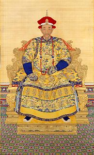 Kangxi Emperor 3rd Emperor of the Qing dynasty