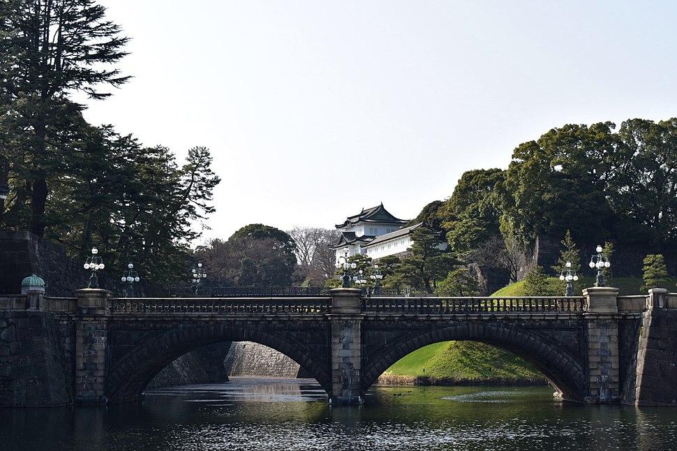 皇居・正門石橋