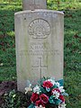 -2020-12-28 CWGC gravestone, Private A Harris, 37th Battalion Australia Infantry, Cromer town cemetery.JPG