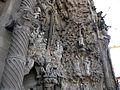 008 Sagrada Família, façana del Naixement, porta de la Caritat.jpg