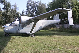 Antonov An-14 - Preserved An-14 on public display.