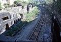 050R16000579 Vorortelinie, Haltestelle Oberdöbling, von Brücke Billrothstrasse, Blick Richtung Penzing.jpg