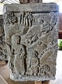 051 Relief, Woman and Child, Museum Mojopahit (40429462941).jpg