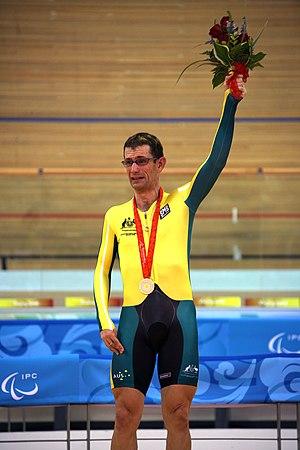 Christopher Scott (cyclist) - Chris Scott gold medallist individual pursuit at the 2008 Beijing Games