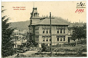 High School in 1906