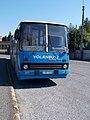 1-es busz, Ikarus 280, Béke tér, 2020 Pápa.jpg
