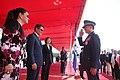 10.03 我國軍人向宏都拉斯共和國葉南德茲(Juan Orlando Hernández)總統伉儷致意 (29997508441).jpg
