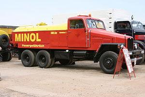 Minol - Minol IFA G5 based tanker.