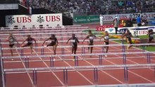 Fichier:100m hurdles female Athletissima 2012.ogv