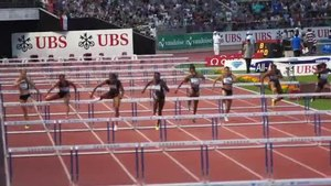 File:100m hurdles female Athletissima 2012.ogv