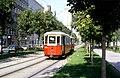 108R34240983 Strassenbahn, Franz Josefs Kai - Salztorgasse, Blick Richtung Schottenring, Sonderfahrt, Typ M 4101, Typ m2 5211.jpg