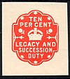10 Percent Legacy and Succession Duty Impressed Duty Stamp.jpg